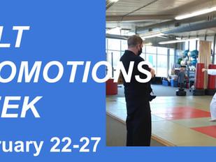 Belt Promotions Week - Feb. 22-27