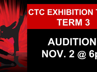 CTC Exhibition Team Auditions: 11/2