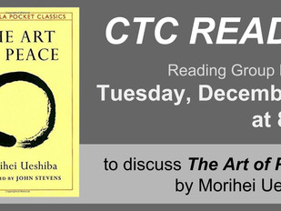 CTC Reads! The Art of Peace