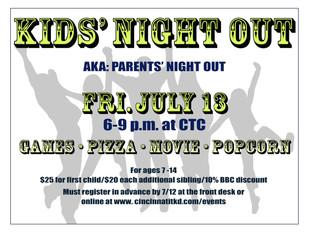 Kids' Night Out!