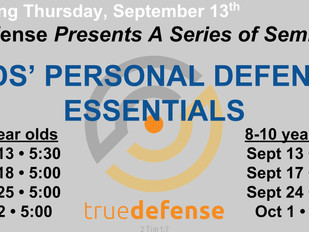 trueDefense Kids' Self-Defense Essentials
