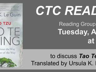 CTC READS: Tao Te Ching