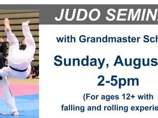 JUDO Seminar: August 19