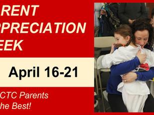PARENT APPRECIATION WEEK