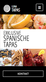 Restaurant website templates – Tapas-Restaurant