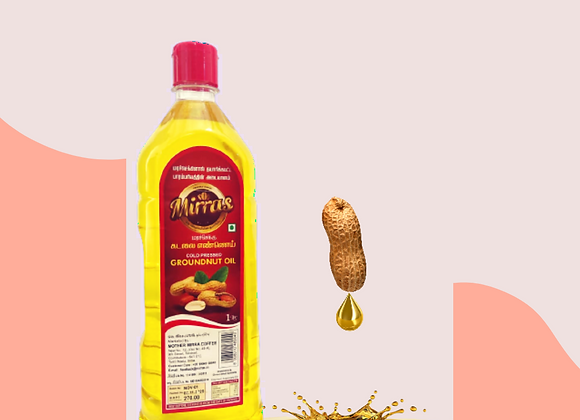 Mirras Groundnut Oil (Coldpressed/ Woodpressed)