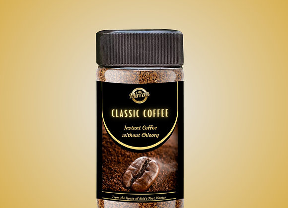 Classic Instant Coffee   Pure Instant Coffee without Chicory