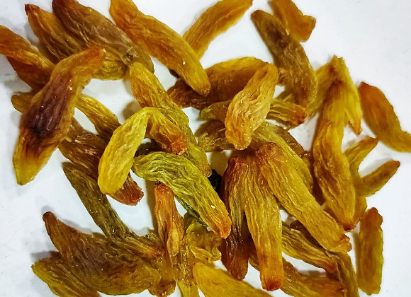 Golden Long Raisins from Sholapur | Product of India