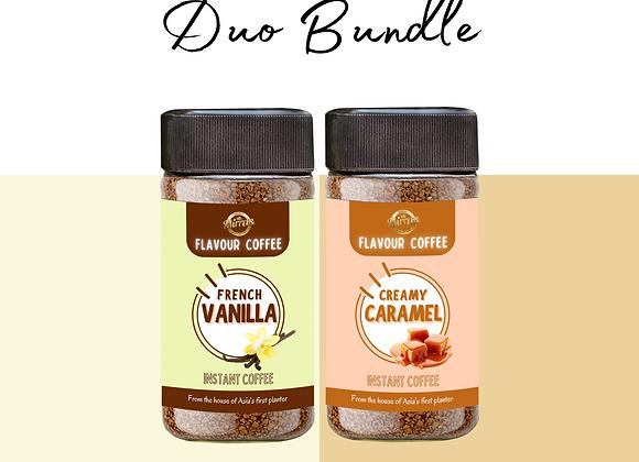 Vanilla and Caramel Coffee | Duo Bundle