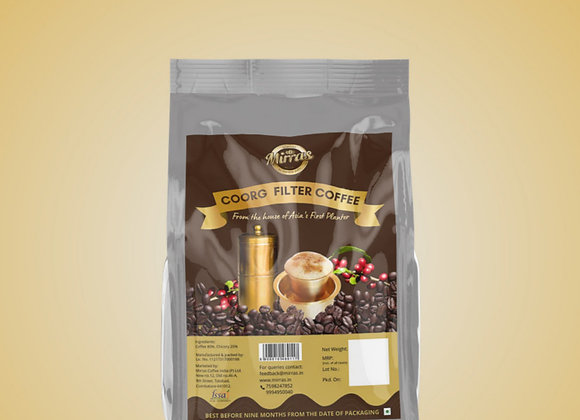 Mirras Royal Filter Coffee | 500gms | (80% coffee, 20% chicory)