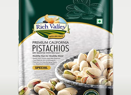 California Pistachios   Dry Roasted with Sea salt