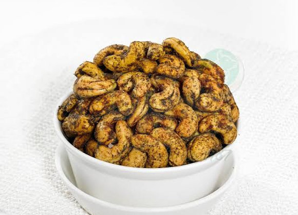 Baked Pepper Cashew Nuts | Keto/Paleo Friendly (No Oil Used)