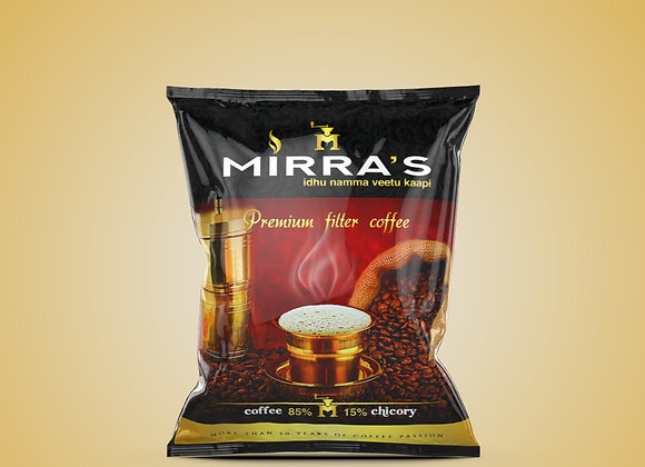 Mirras Premium Filter Coffee 200gms × 2 | 85% coffee, 15% chicory | Pack of 2