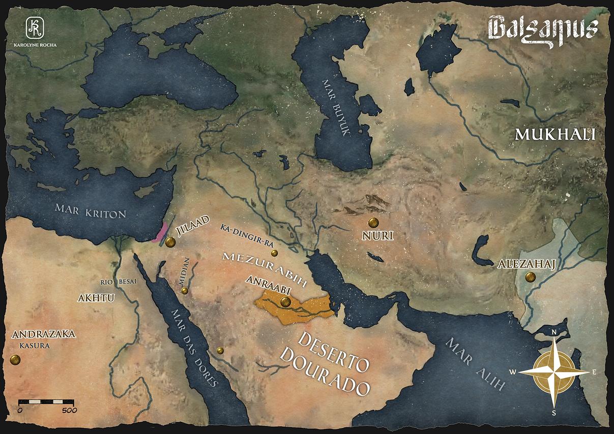 Mapa Balsamus