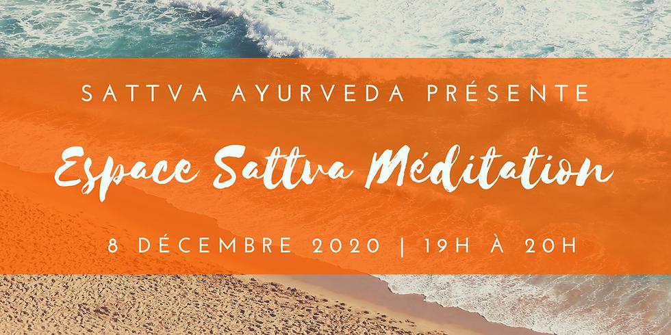 Espace Sattva Méditation - 8 décembre 2020