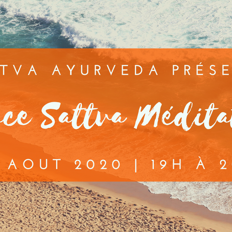 Espace Sattva Méditation - 4 août 2020