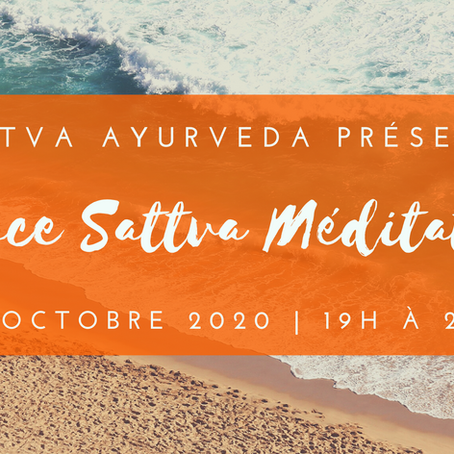 Espace Sattva Méditation - 6 octobre 2020