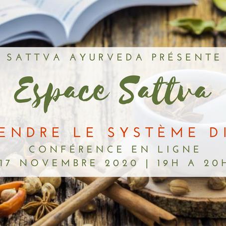 Espace Sattva - 17 novembre 2020
