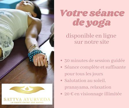 Séance de Yoga Guidé - 30 minutes