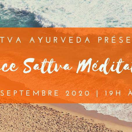 Espace Sattva Méditation - 1er septembre 2020