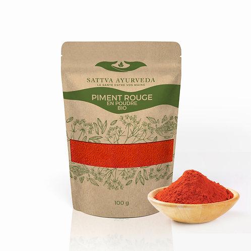 Piment rouge en poudre