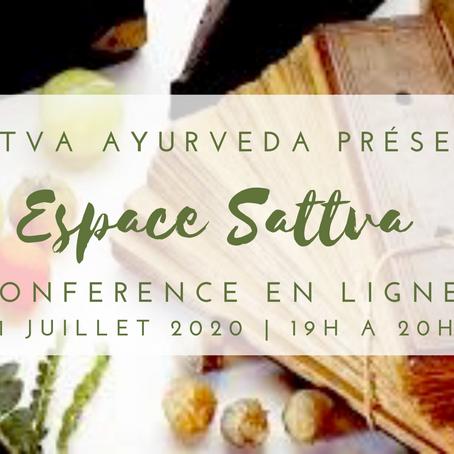 Espace Sattva - 21 juillet 2020