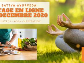Stage Ayurveda en Ligne - 20 Décembre 2020