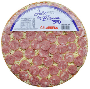 PIZZA DE CALABRESA 600g