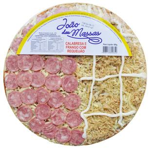 PIZZA DE CALABRESA E FRANGO 600g