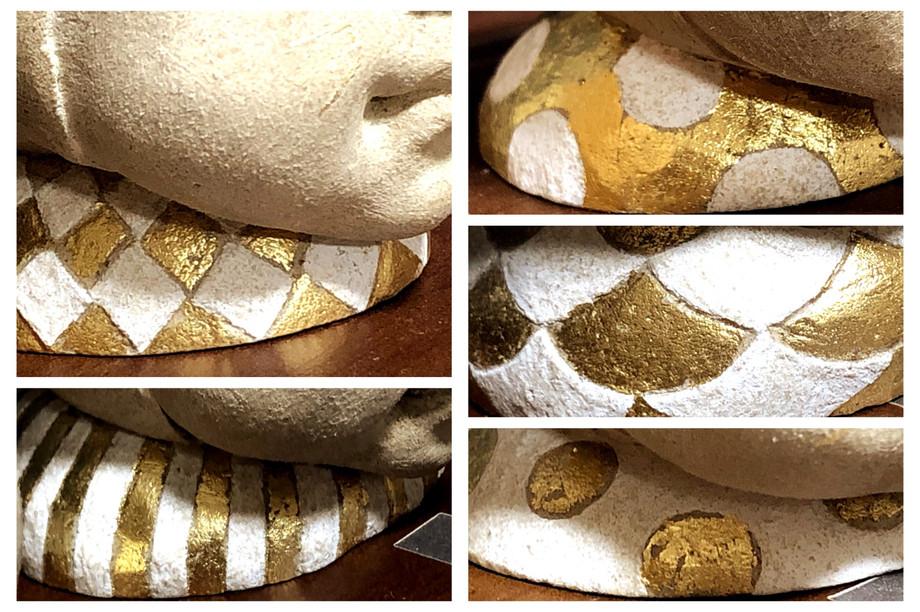 形と色の魅力 模様と金箔