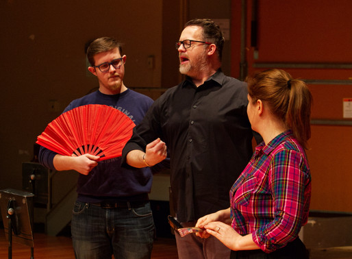IOWA CITY PRESS-CITIZEN ARTICLE: Madama Butterfly Offers Up Universal Themes and Tragedy