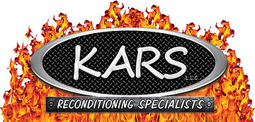KARS Recon Specialists logo with flames.