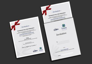 Corporate Invitation Design