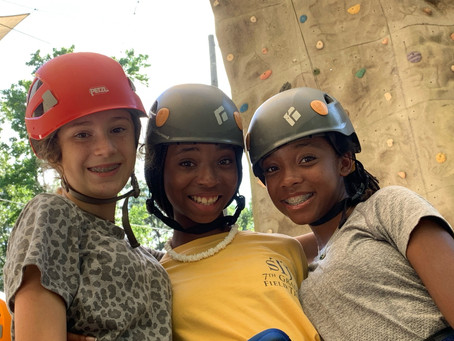 The First WIT Team-Building Camp at 4-H was a Great Success