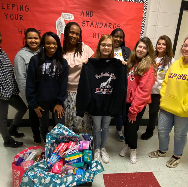 HEELS Service Club at Prattville HS