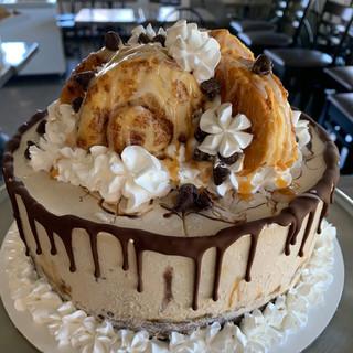 Coffee Cake w/ Cinnamon Rolls