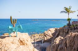 Beach destination wedding in Cabo