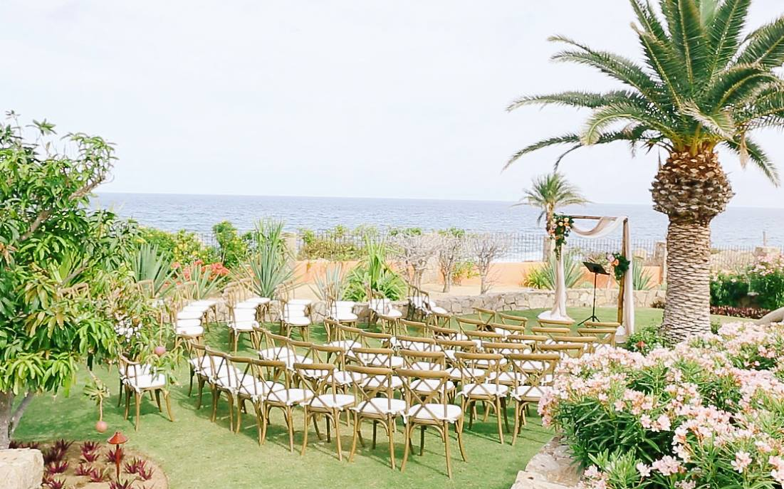 Private villa destination wedding