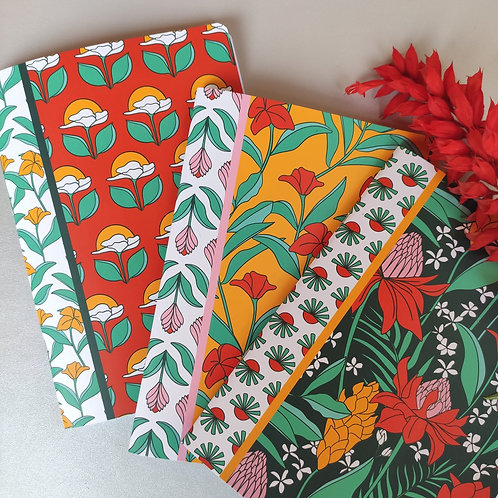 Blooming in the Wild Notebook Collection