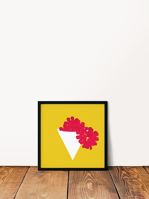 Lei Shave Ice Poster 10x10