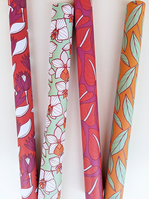 And She Stood Tall Wrapping Paper Set