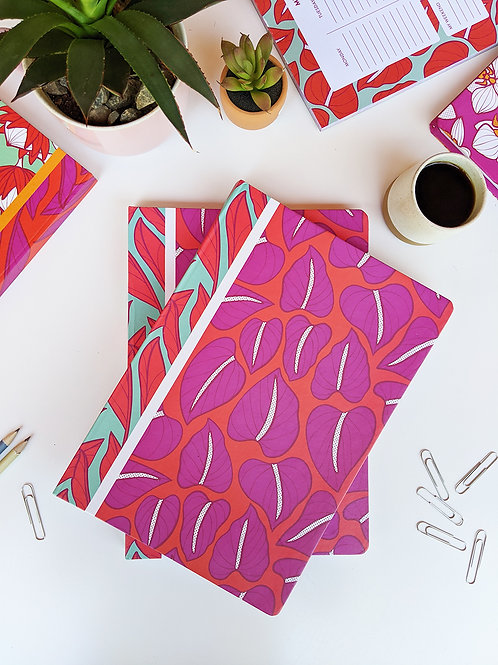 Proud Anthurium Notebook