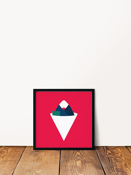 Musubi Shave Ice Poster 10x10
