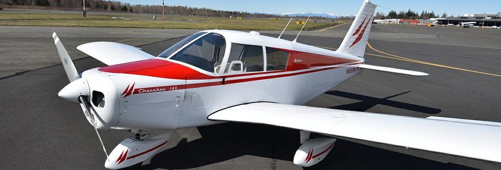 Piper Cherokee + GoPro