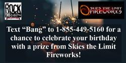 Birthday Bang Website Poster
