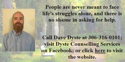 Dave Dyste Website 2021