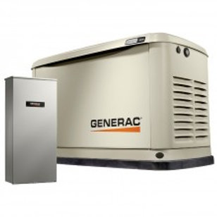 Generac 13kW Standby Generator with 200-Amp Whole House Automatic Transfer Switc