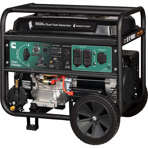 Cummins / Onan P9500df Portable Generator DUAL FUEL - LP/GAS