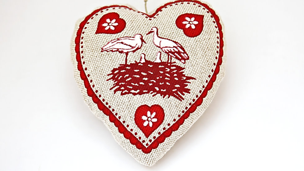 Coeur Nid de Cigognes