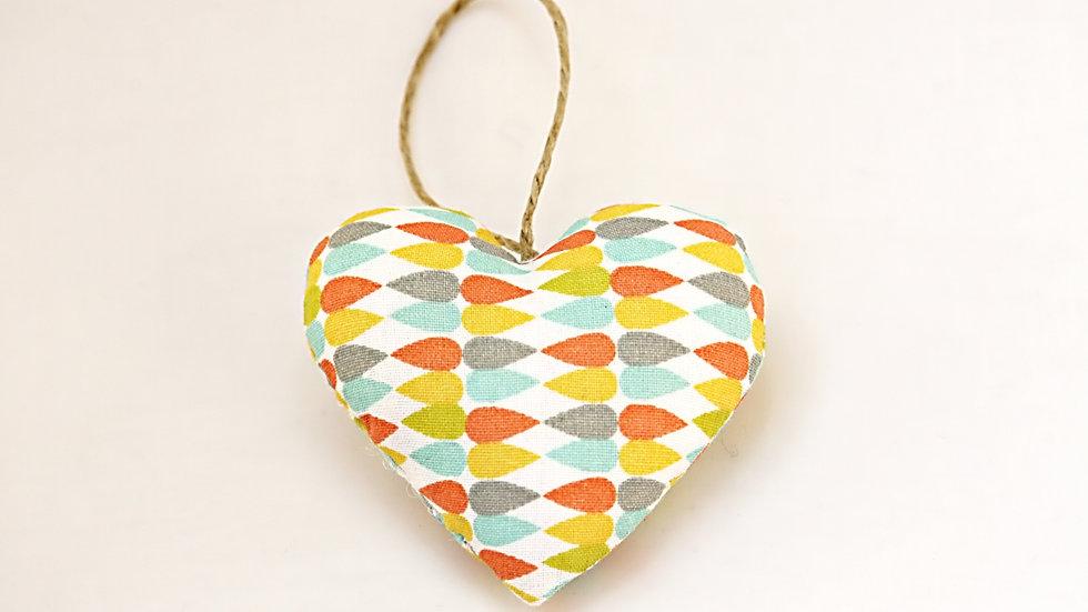 Coeur Géométrique Gouttes